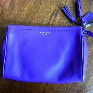 Coach Ultra Violet Cosmetics Case